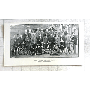 1897 West Essex Cycling Club, Group Photo