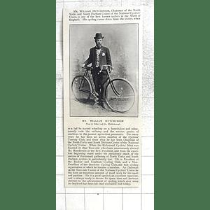 1897 William Hutchinson, South Durham, Richmond Middlesbrough