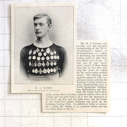 1897 Kettering Cyclist Ha Palmer