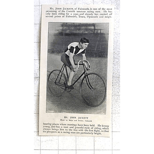 1897 Mr John Jackett, Falmouth, Bright Prospects