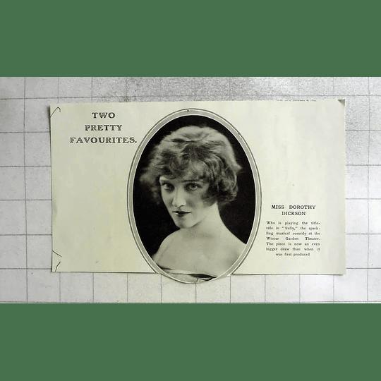 1922 Miss Dorothy Dickson