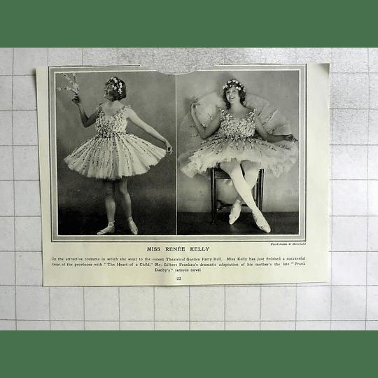 1922 Miss Renée Kelly, Heart Of A Child