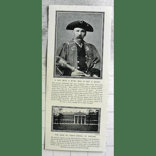 1903 Mr Charles Dankester Kings College Aberdeen University