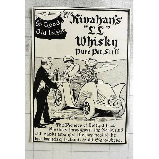 1903 Old Irish Connections Ll Whiskey Pure Pot Still