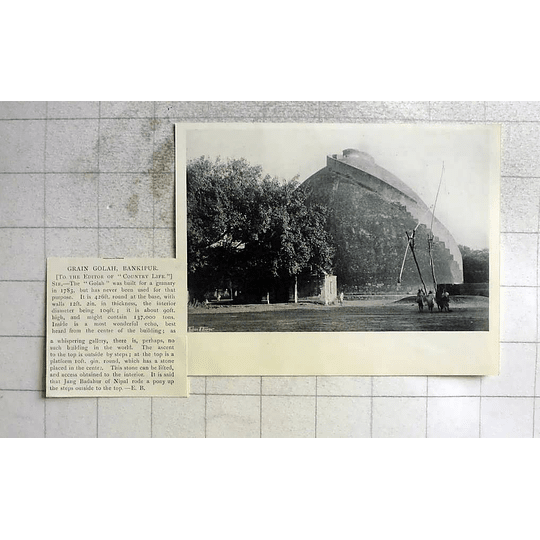 1905 Grain Golah In Bankipur Built As A Granary