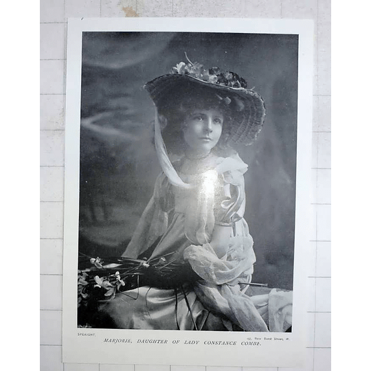 1905 Marjorie, Daughter Of Lady Constance Combe