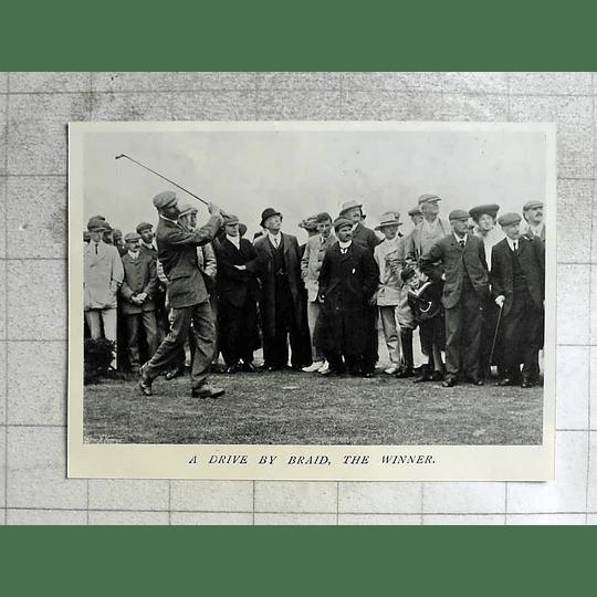 1905 Golf, A Drive By Braid The Winner