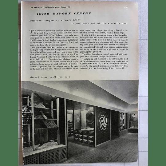 1955 Irish Export Centre, Export Promotion Board Design Ground Floor