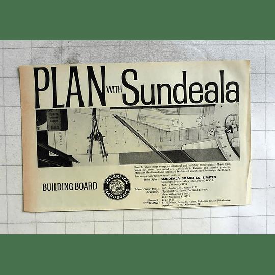 1962 Sundeala Board Company Newcastle Plymouth London