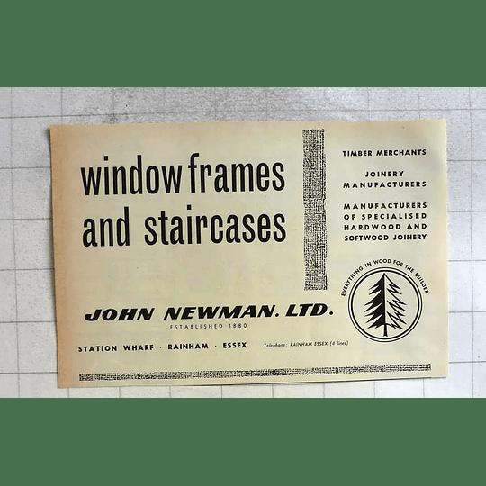 1962 John Newman Station Wharf Rainham Essex Staircases