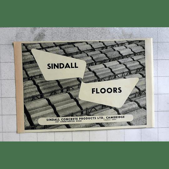 1962 Sindall Concrete Products Cambridge