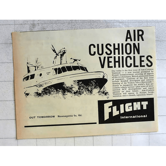 1962 Flight International Air-conditioned Vehicles Srm To