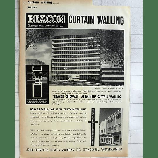 1962 John Thomson Beacon Windows At Ettingshall Wolverhampton