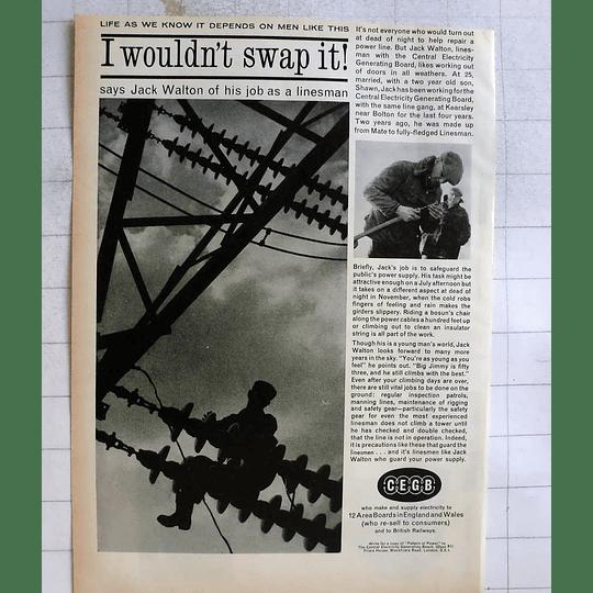 1962 Jack Walton Electricity Board Gang Kearsley Bolton