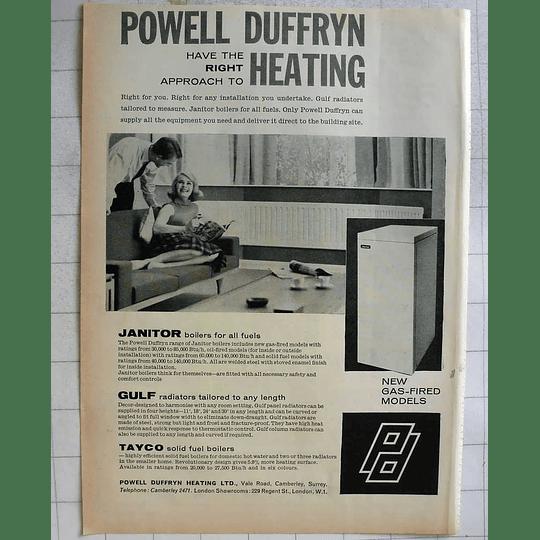 1962 Powell Duffryn Heat Camberley Surrey