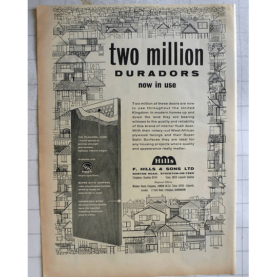 1962 F Hills Norton Road Stockton On Tees Duradors