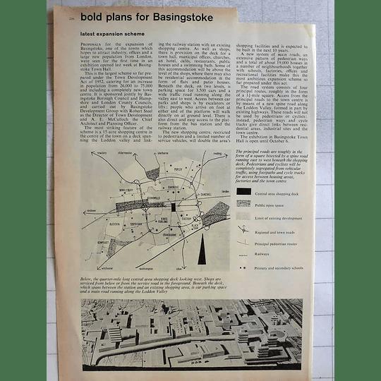1962 Bold Plans For Basingstoke, Models, Plan