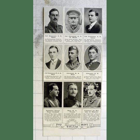 1915 Lieutenant Samuel Pepys Cockerell, Ad Sprunt