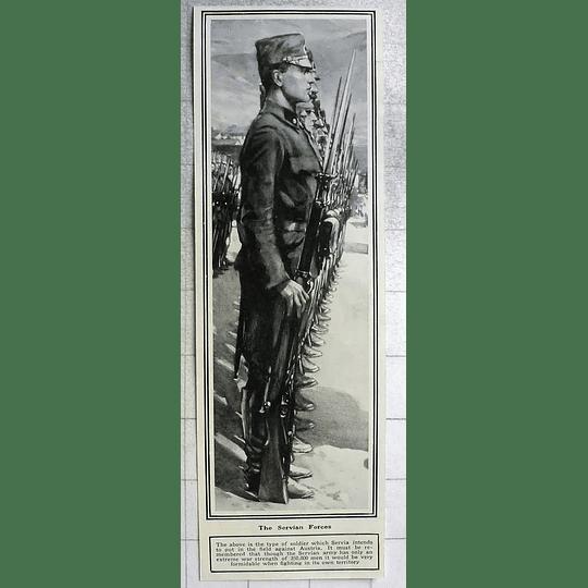 1914 Formidable Serbian Army, 350,000 Men