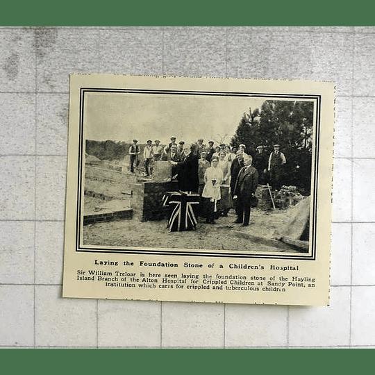 1919 Hayling Ireland Branch Of Alton Hospital For Crippled Children Sandy Point