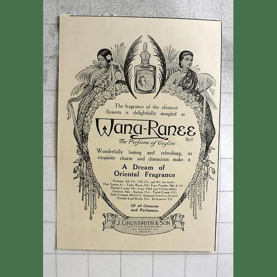 1919 The Perfume Of Ceylon, Wana Ranee