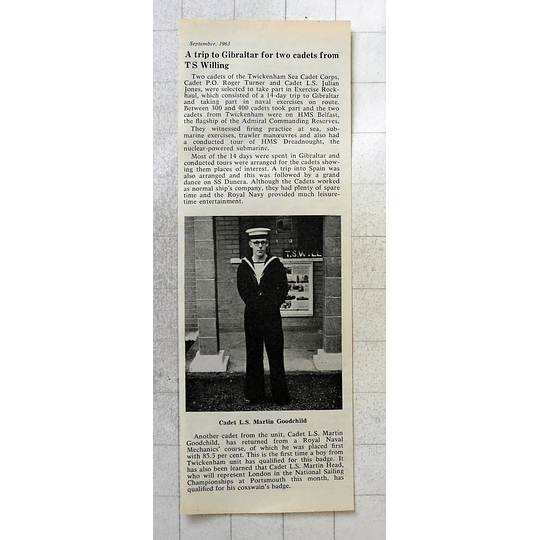 1963 Cadet Ls Martin Goodchild, Twickenham, Mechanic
