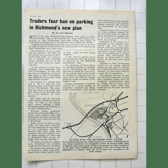 1963 Outline Plan For Richmond Town Centre
