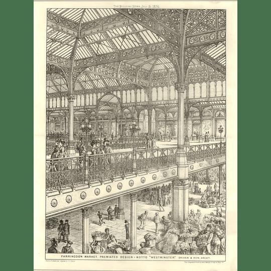 1874 Farringdon Market, Premiate Design, Motto Westminster Driver Rew