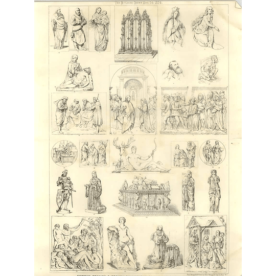 1874 German Spanish And French Sculptures Of The 15th And 16th Centuries