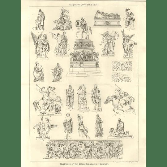1874 Sculptures Of The Berlin School, 19th-century