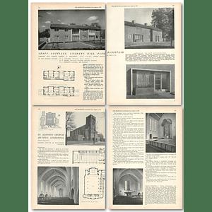 1953 Staff Cottages, Golders Hill Park, Hampstead, For Park Superintendent