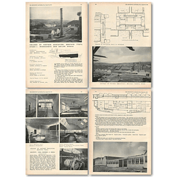 1953 College Of Further Education Merthyr Tydfil Stage Workshops Boilerhouse