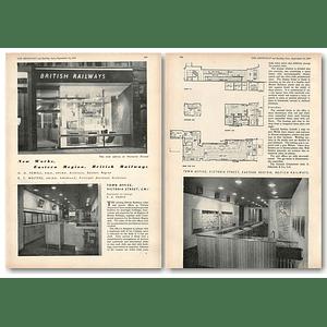 1953 British Railways Town Office Victoria Street Sw1