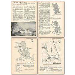 1953 Proposal For A Factory For Silentbloc Ltd Crawley