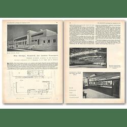 1953 New Garage In Romford For London Transport