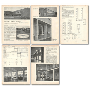 1953 Secondary School For Girls Pathfields Clacton
