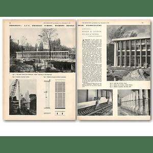 1953 Progress On Lcc Primary School, Bishops Bridge Road Paddington