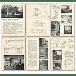 1953 House At Otham Near Maidstone Designed Brian Peake