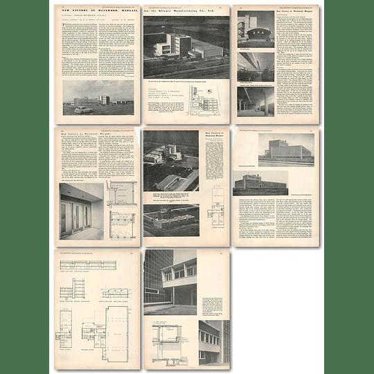 1953 New Factory At Westwood Margate For Klinger Hosiery