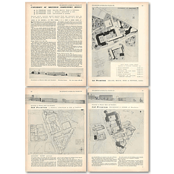 1953 University Of Sheffield Competition Results First Second Third