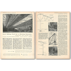 1953 Steel Tubing Used For New Factory, Kirby, Tubewrights