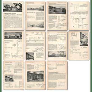 1953 Manchester Schools Development Planning, Oldwood, Woodhouse Lane