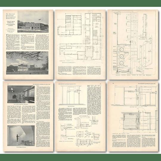 1953 British Electrical Development Testing House Leatherhead Surrey