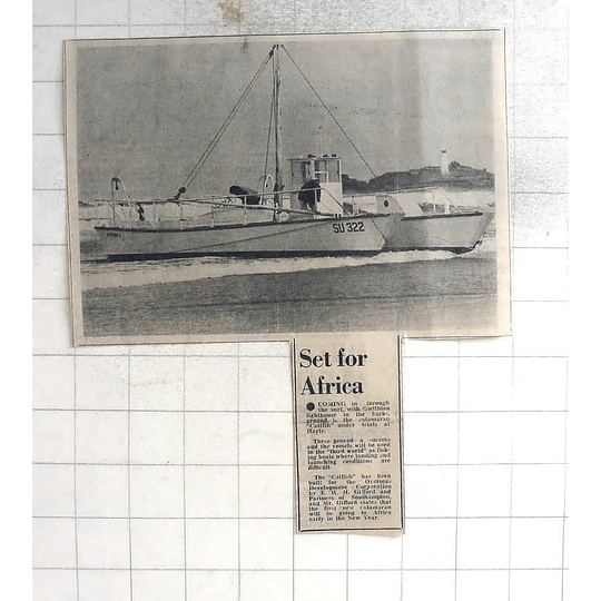 1975 Catamaran Catfish Under Trials Hayle,, Gifford Southampton