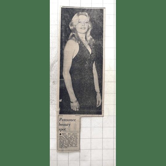 1975 Penzance Beauty, Annette Wearne From Newlyn