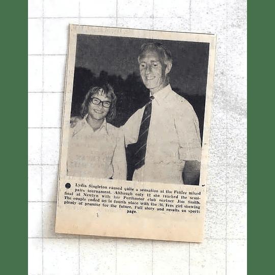 1975 Promising Young Sensation Penlee Tournament, Lydia Singleton
