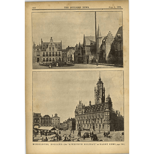 1902 Middelburg Holland Marketplace Centre