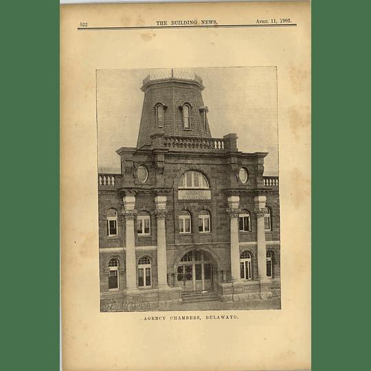 1902 Agency Chambers In Bulawayo