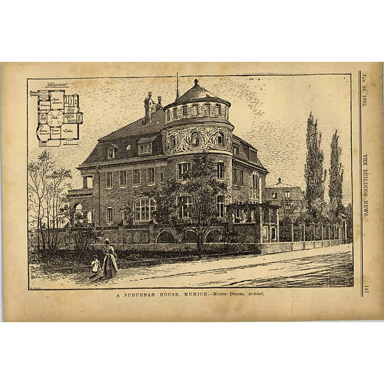 1902 Suburban House In Munich Martin Dulfer Architect