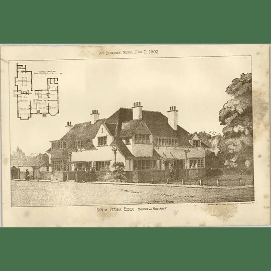 1902 Inn At Pitsea Essex Harrison Ward Architects